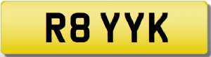 ROY RAY K Private Registration Cherished Number Plate ROYSTON ROYSTEN LEROY